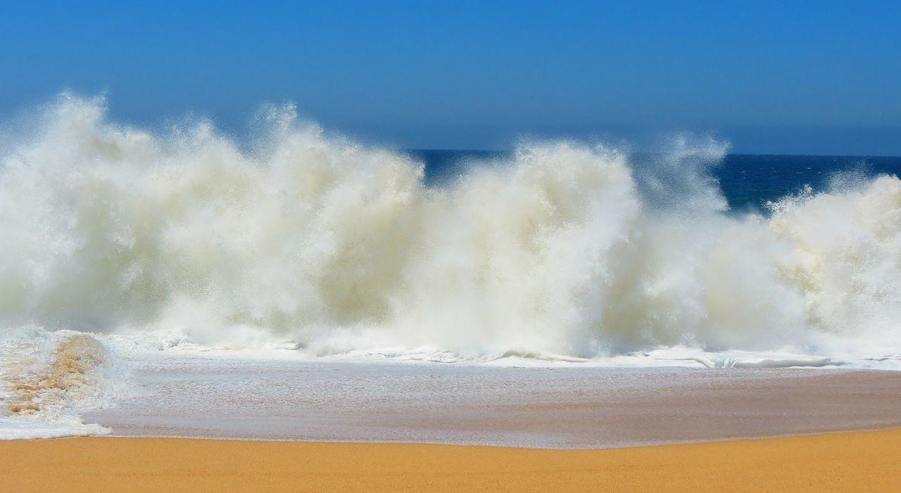 Wie verhalte ich mich bei einem Shore Break?