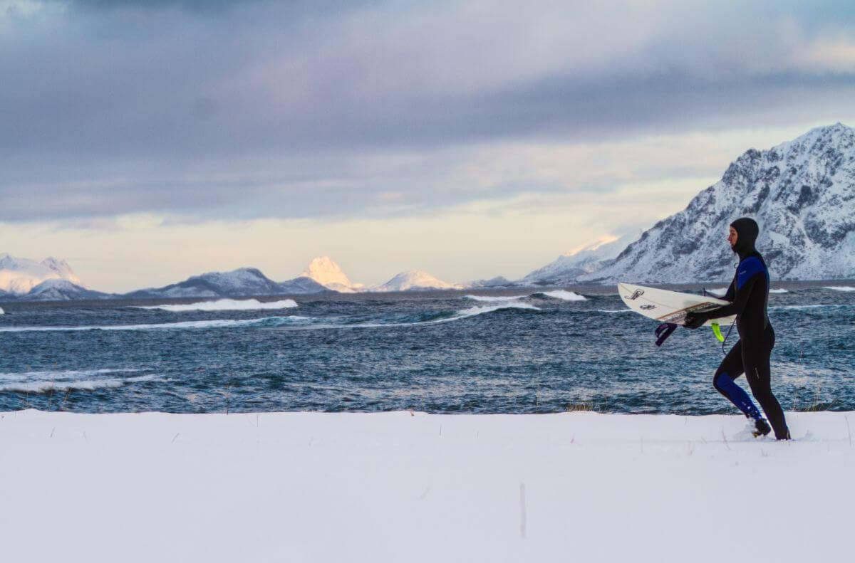 Maria Petersson Lofoten Schnee