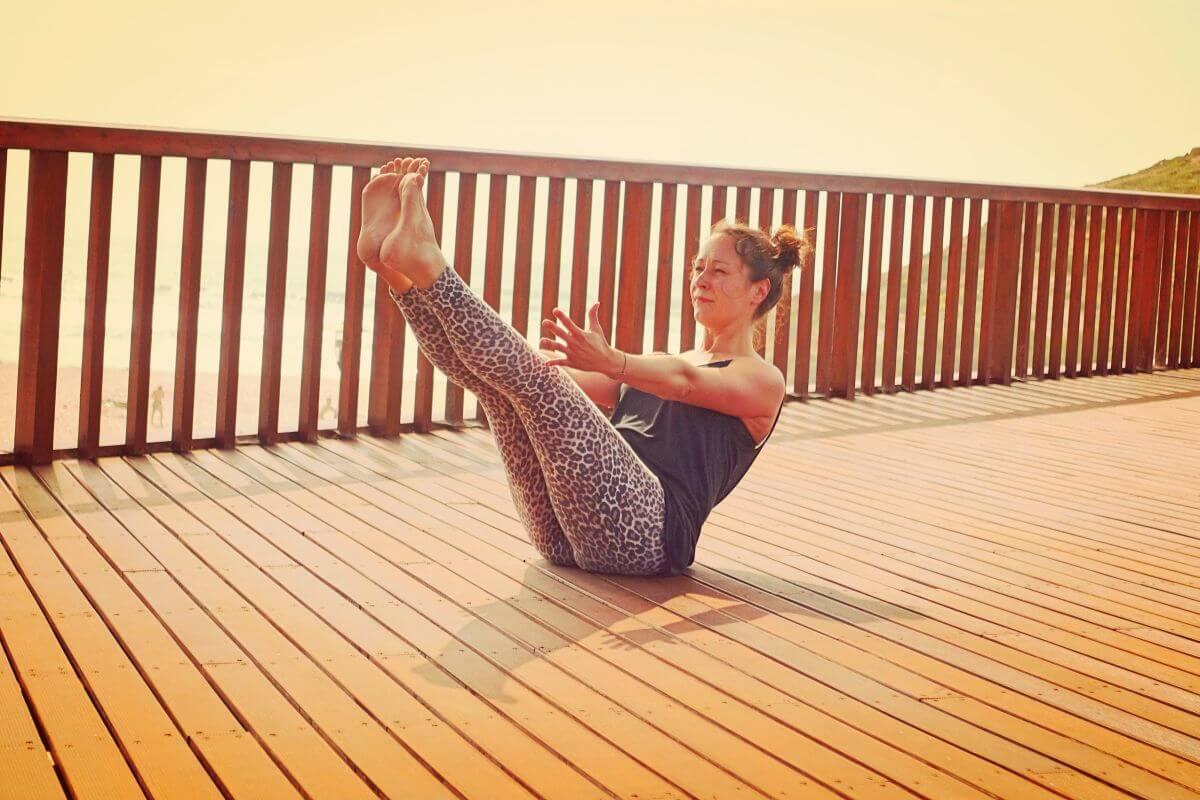 Yoga & Surfen Boot