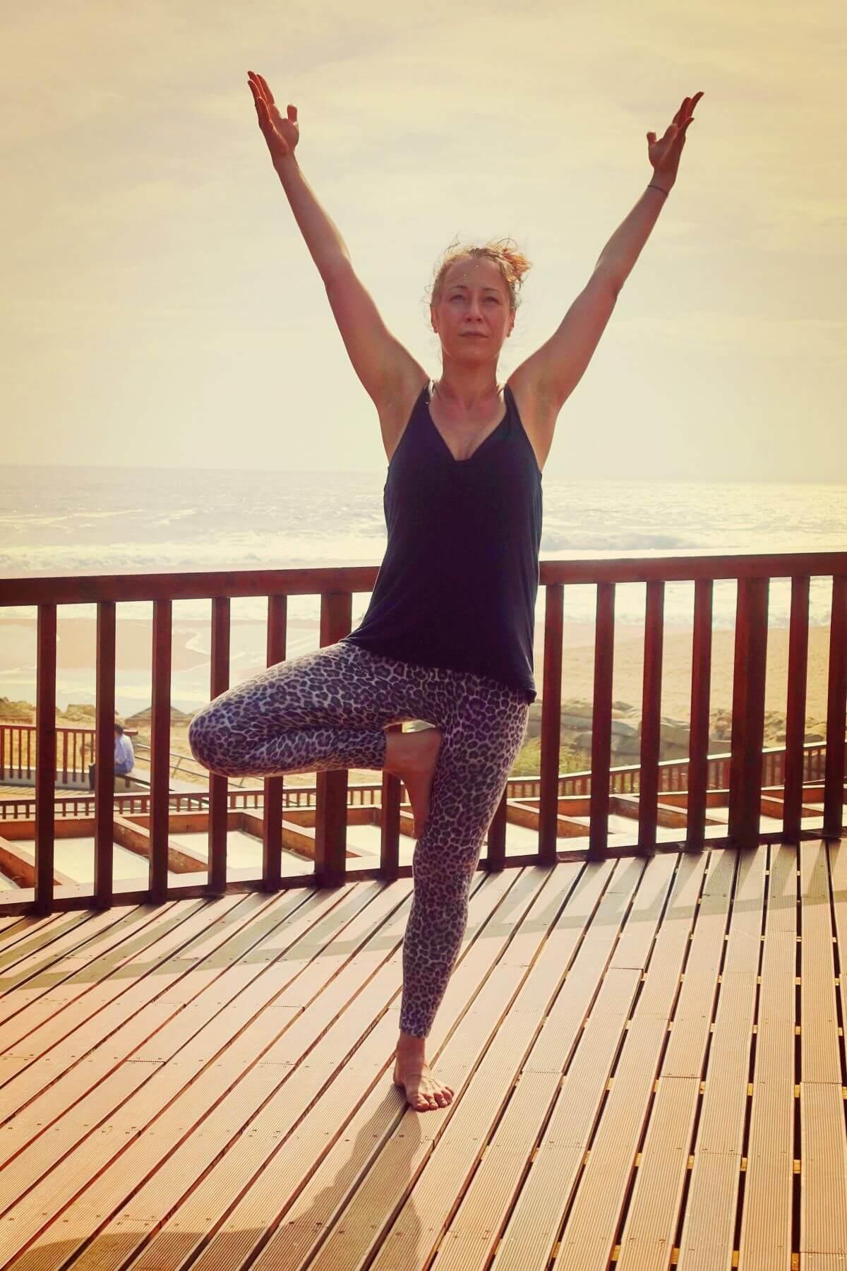Yoga & Surfen Baum