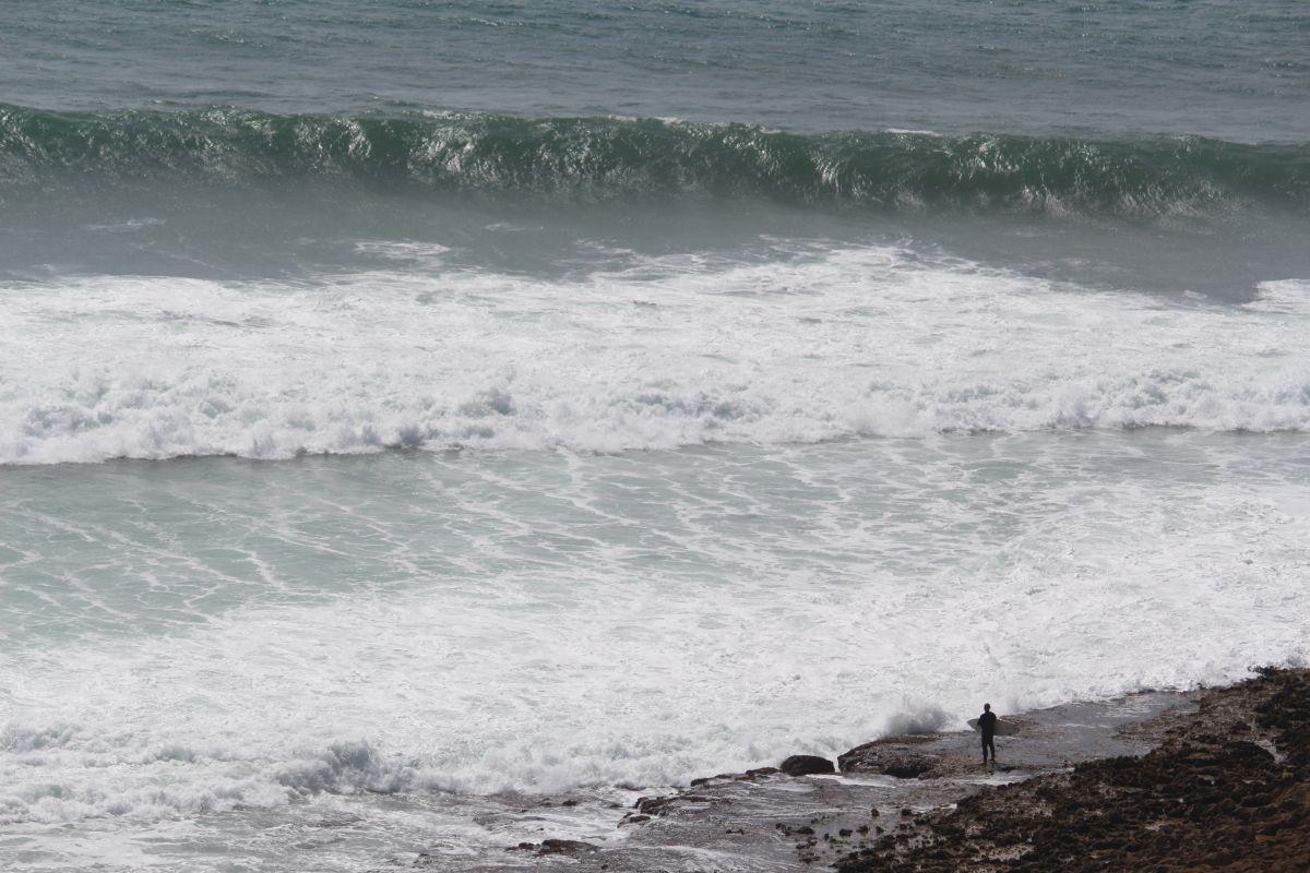 Die Angst, dein bester Freund beim Surfen