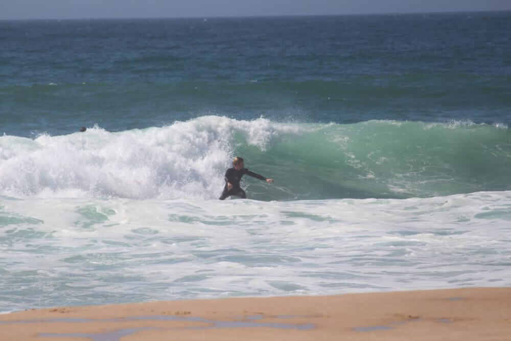 Bild Beach Break Malhao Portugal