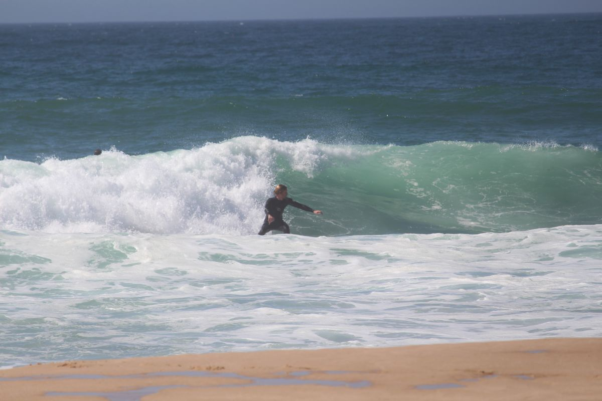 Bild Beach Break Malhao Portugal