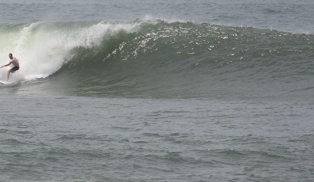 Face einer brechenden Welle