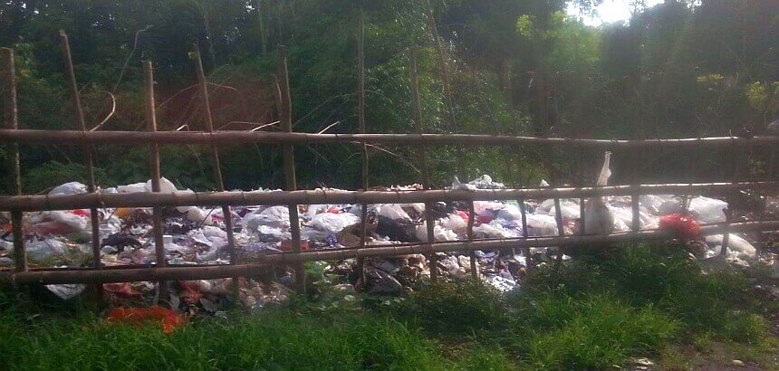 Müllproblem auf Bali