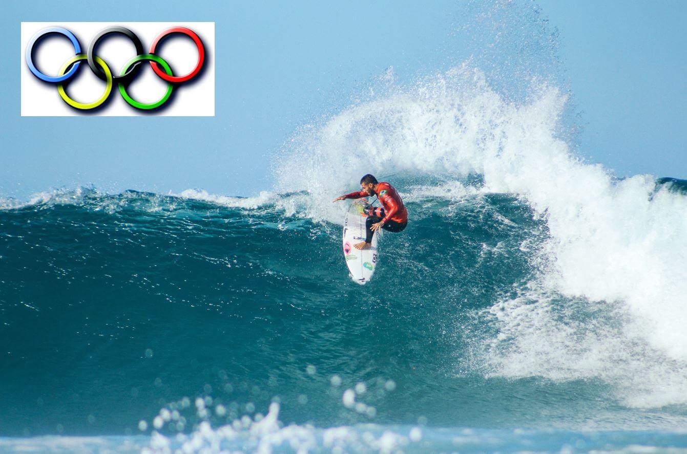 Surfen Bei Olympia Titelbild
