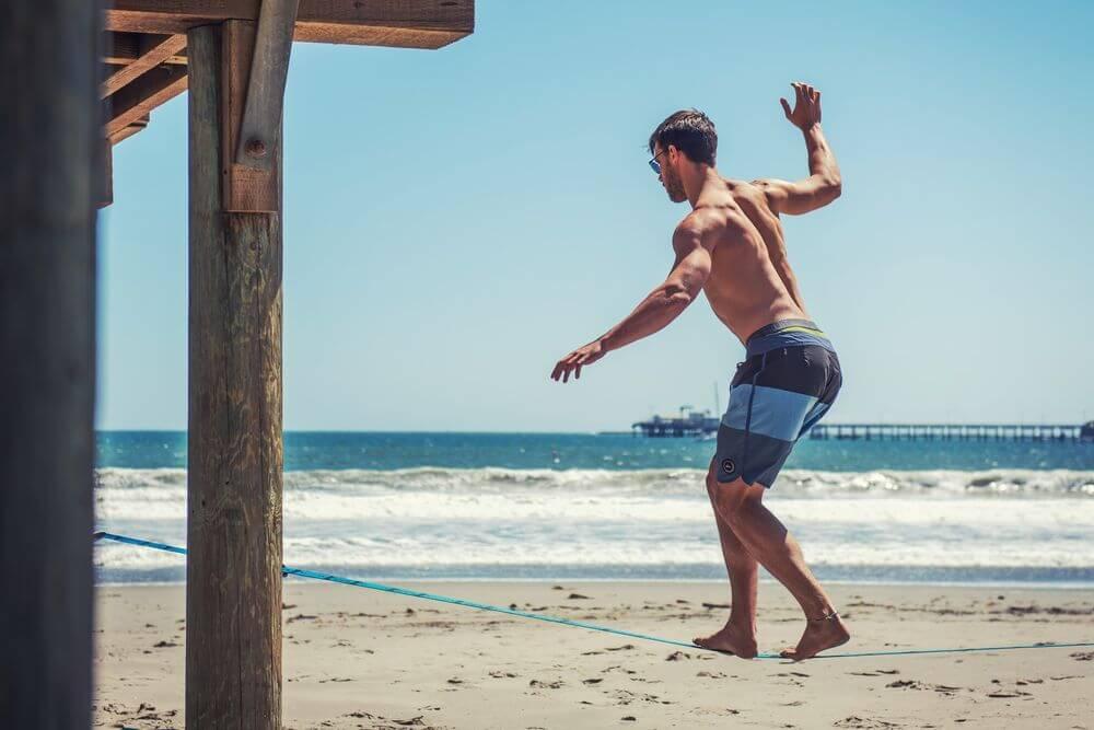 Slacklinen für Surfer - Beitragsbild